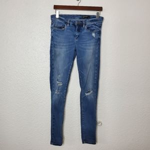 Blank NYC Distressed Skinny Studded Jeans Size 29